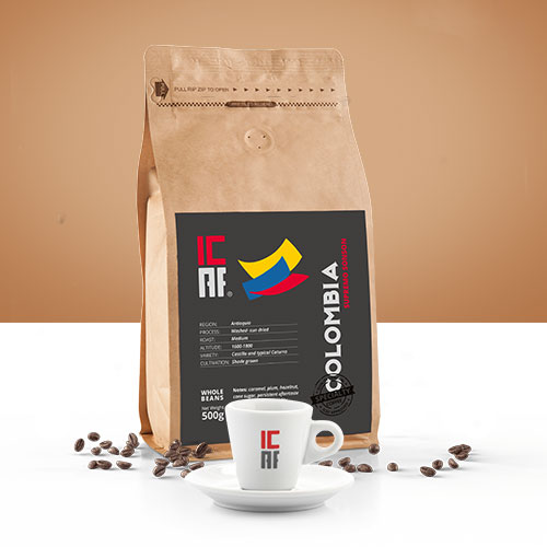 ICAF Colombia Specialty Coffee